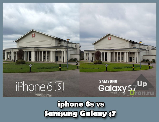 iPhone 6s vs Galaxy S7 битва камер