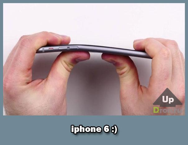 Как ломались iphone 6