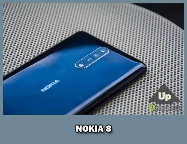 Флагманский смартфон Nokia 8