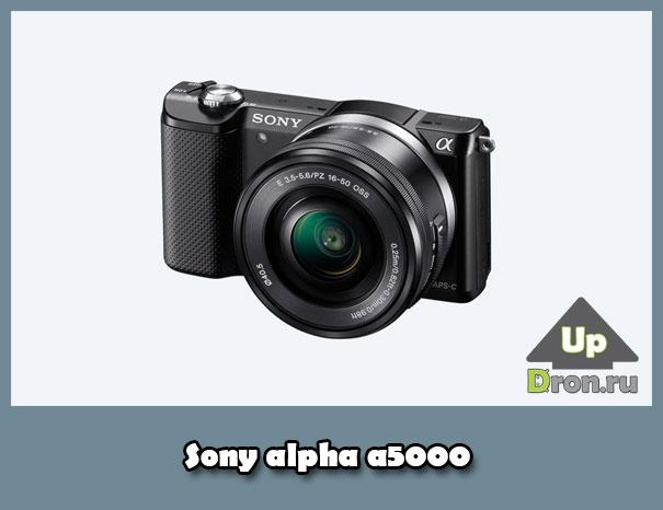 Sony alpha a5000 обзор компактной фотокамеры