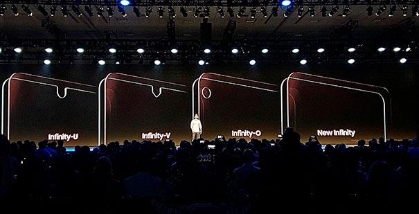 infinity экраны от Samsung