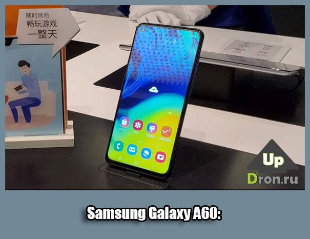 Обзор Samsung Galaxy A60