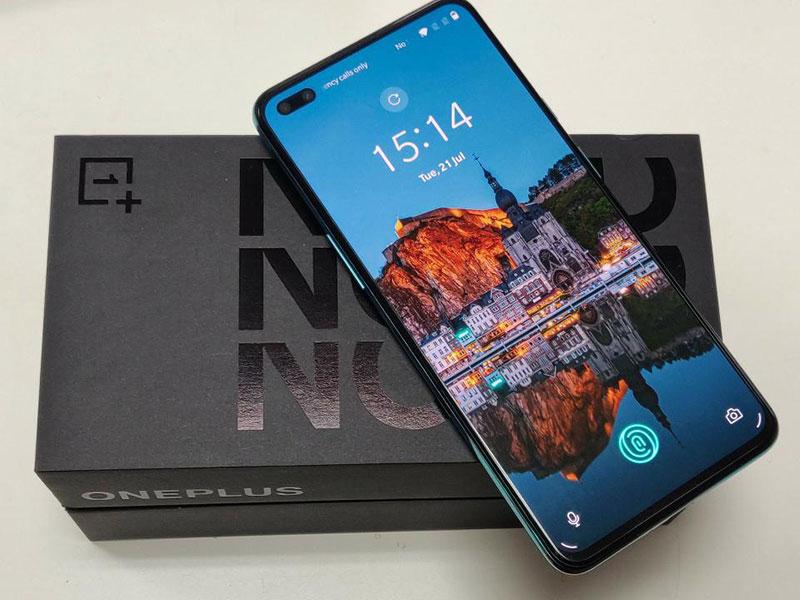 OnePlus Nord дизайн